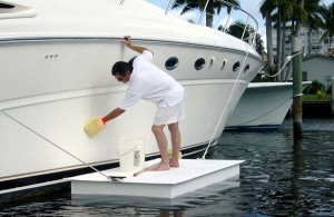 Accudock offers work floats that are useful for anyone working on the water.